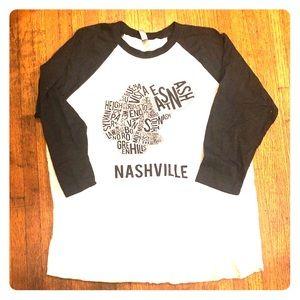 Nashville baseball Tee